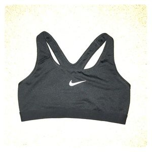 Black Nike Sports Bra